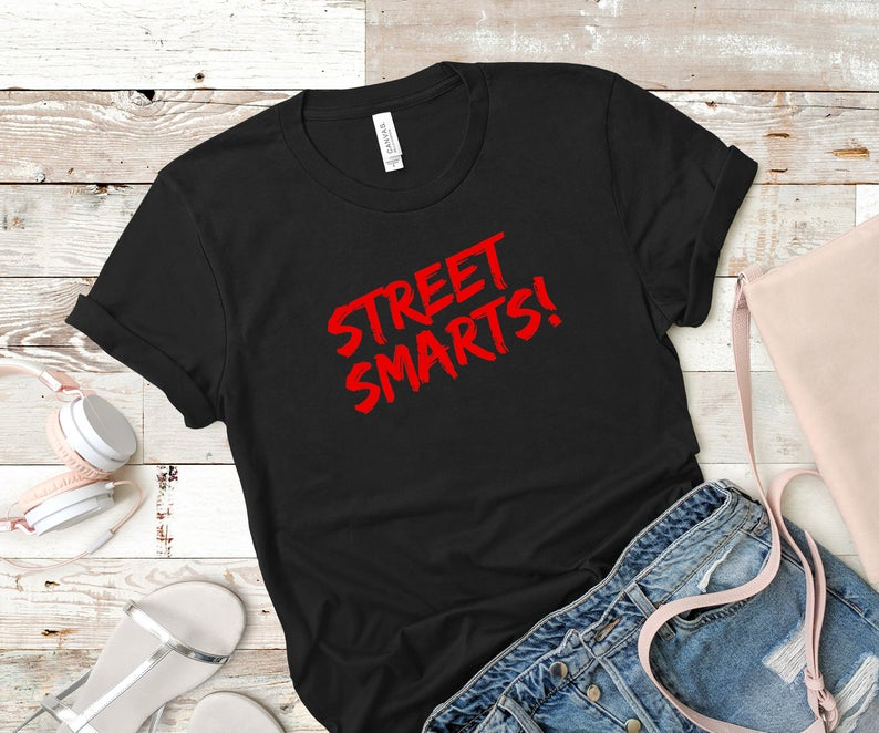 John Mulaney Street Smarts Quote Shirt - Merch Tee Gift - Funny TShirt for Men's Gorgeous Fans
