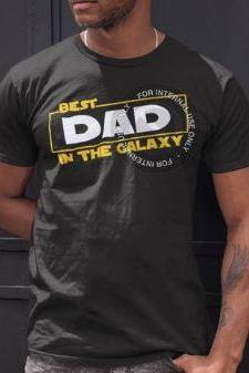 May the Fourth Be With You - Dad Shirt - Best Dad in the Galaxy