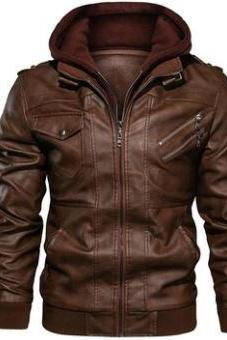 New Men's Leather Jackets Autumn Casual Motorcycle PU Jacket Biker Leather Coats Brand Clothing